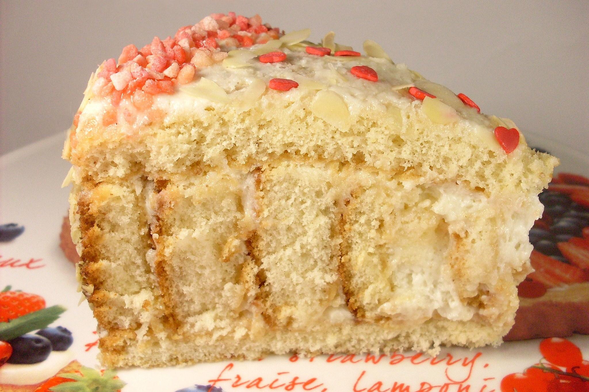 Торт с творожный крем рецепт пошагово в домашних условиях
