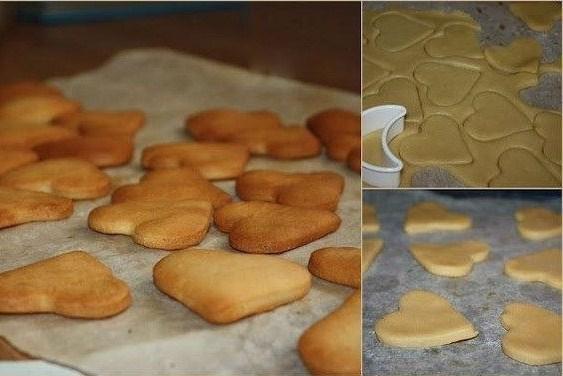 рецепт бисквитного печенья для ребенка