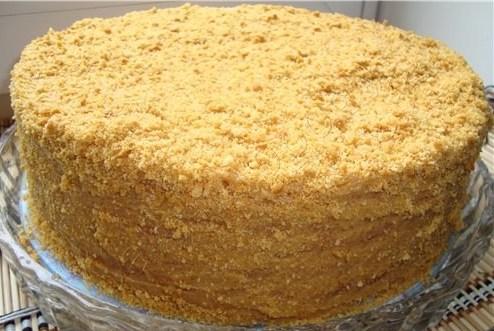 медовый торт рецепт со сметанным кремом