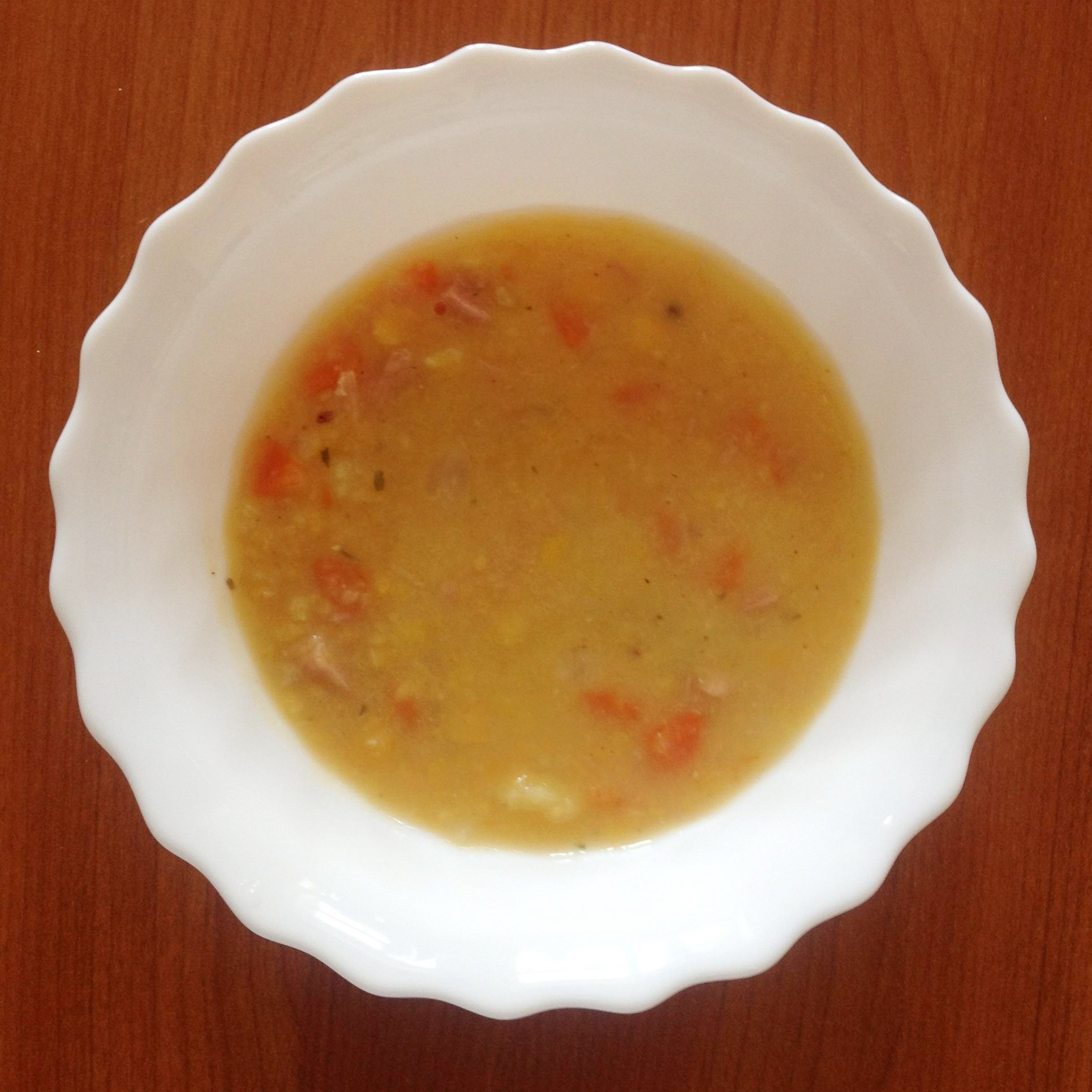 Суп гороховый с копченым салом пошаговый рецепт