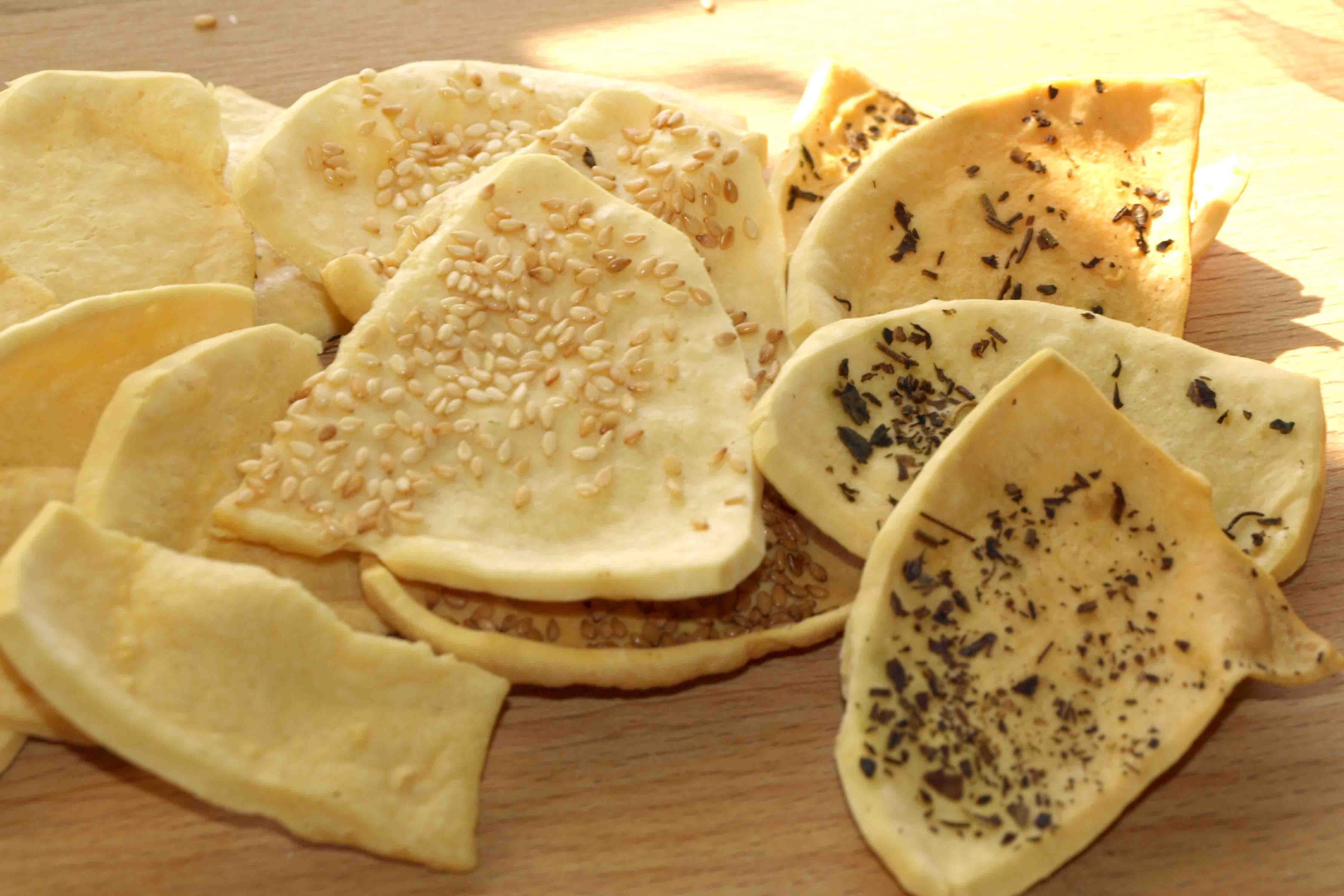 Сырные сухарики рецепт