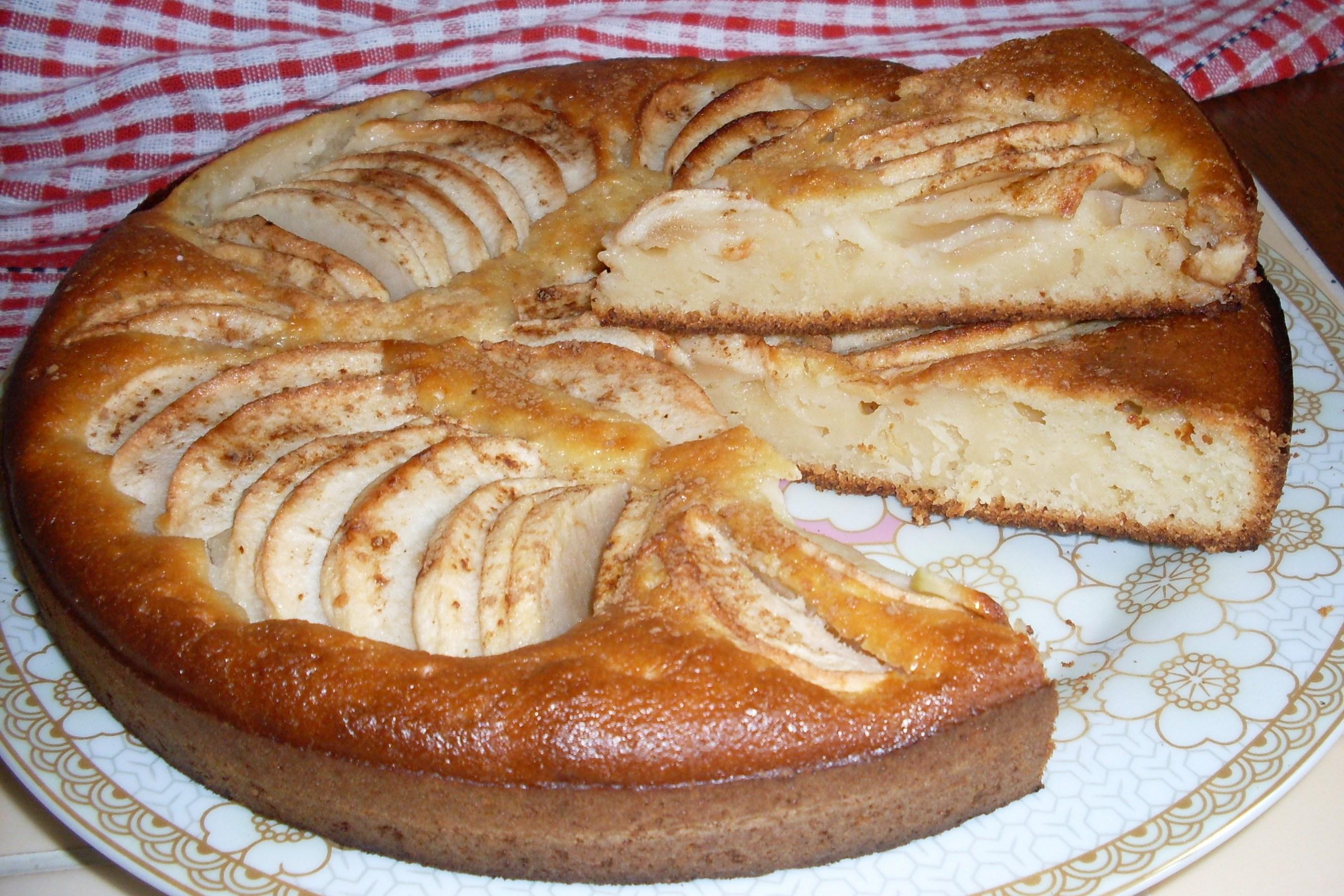 Рецепт простой творожного пирога