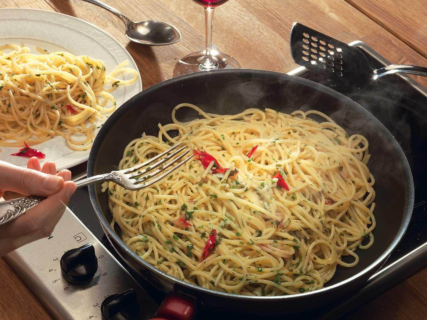 лепешки из спагетти рецепт