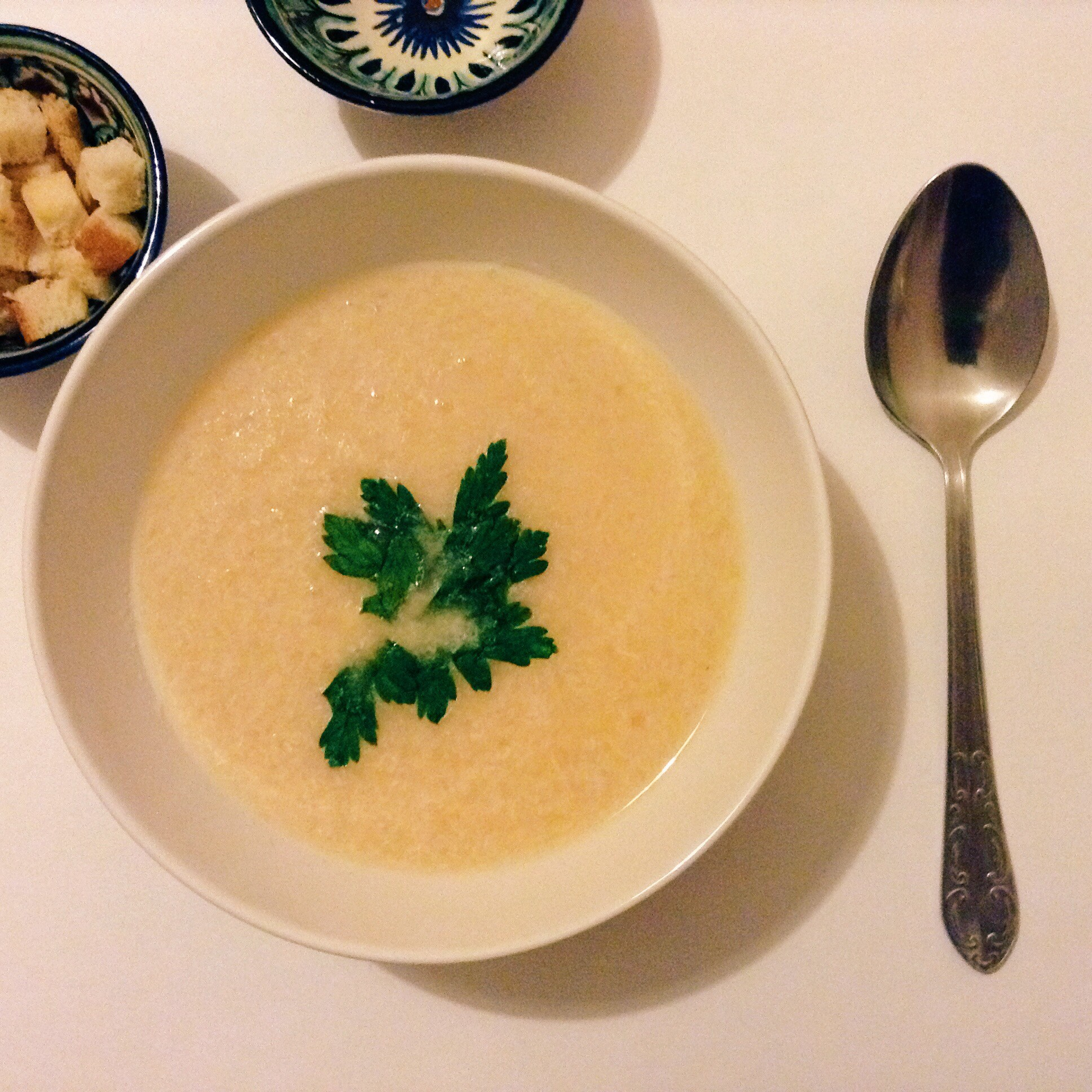 рецепт суп-пюре сырный с фото