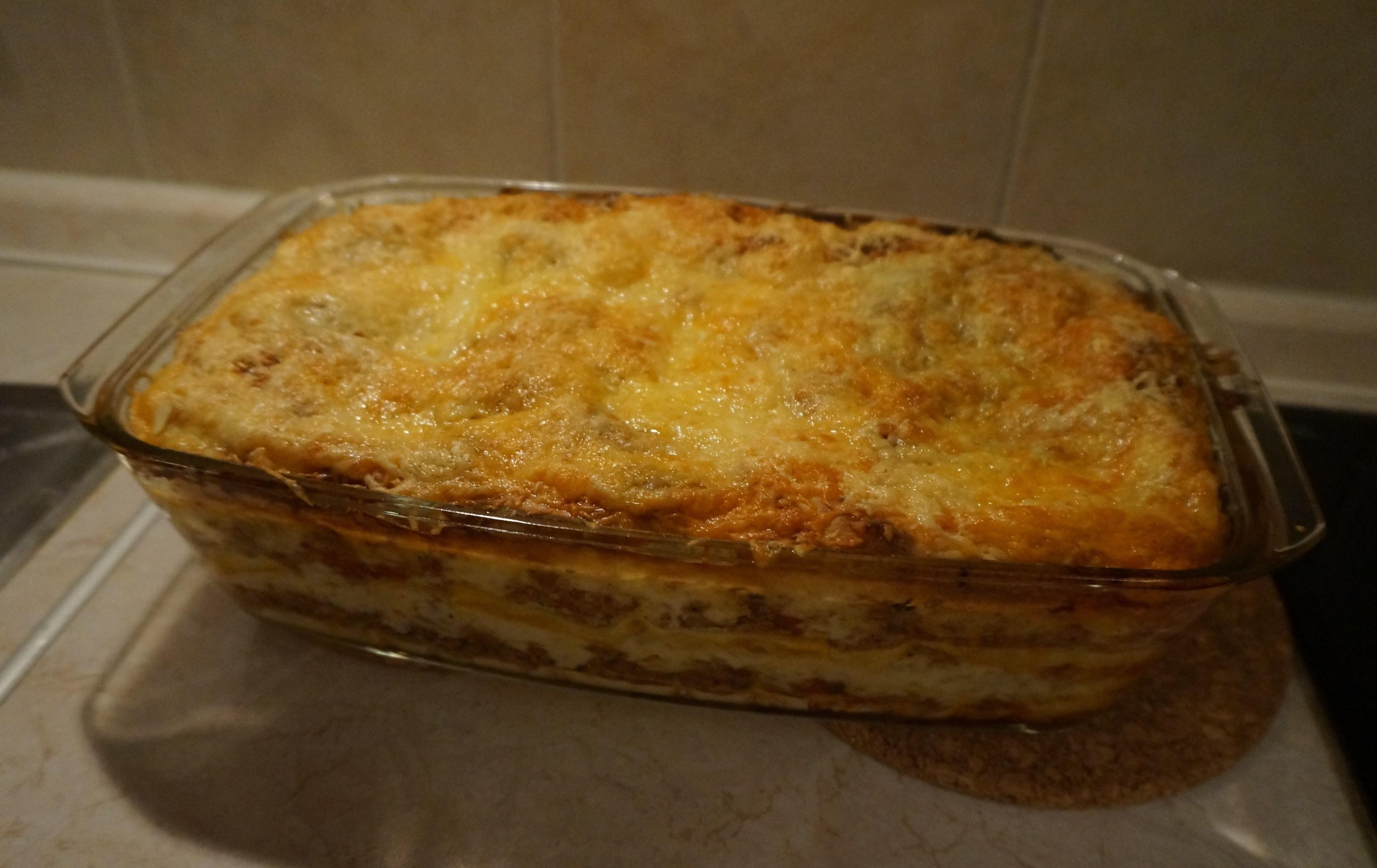 Пошаговый рецепт лазаньи с фаршем в домашних условиях с фото 44