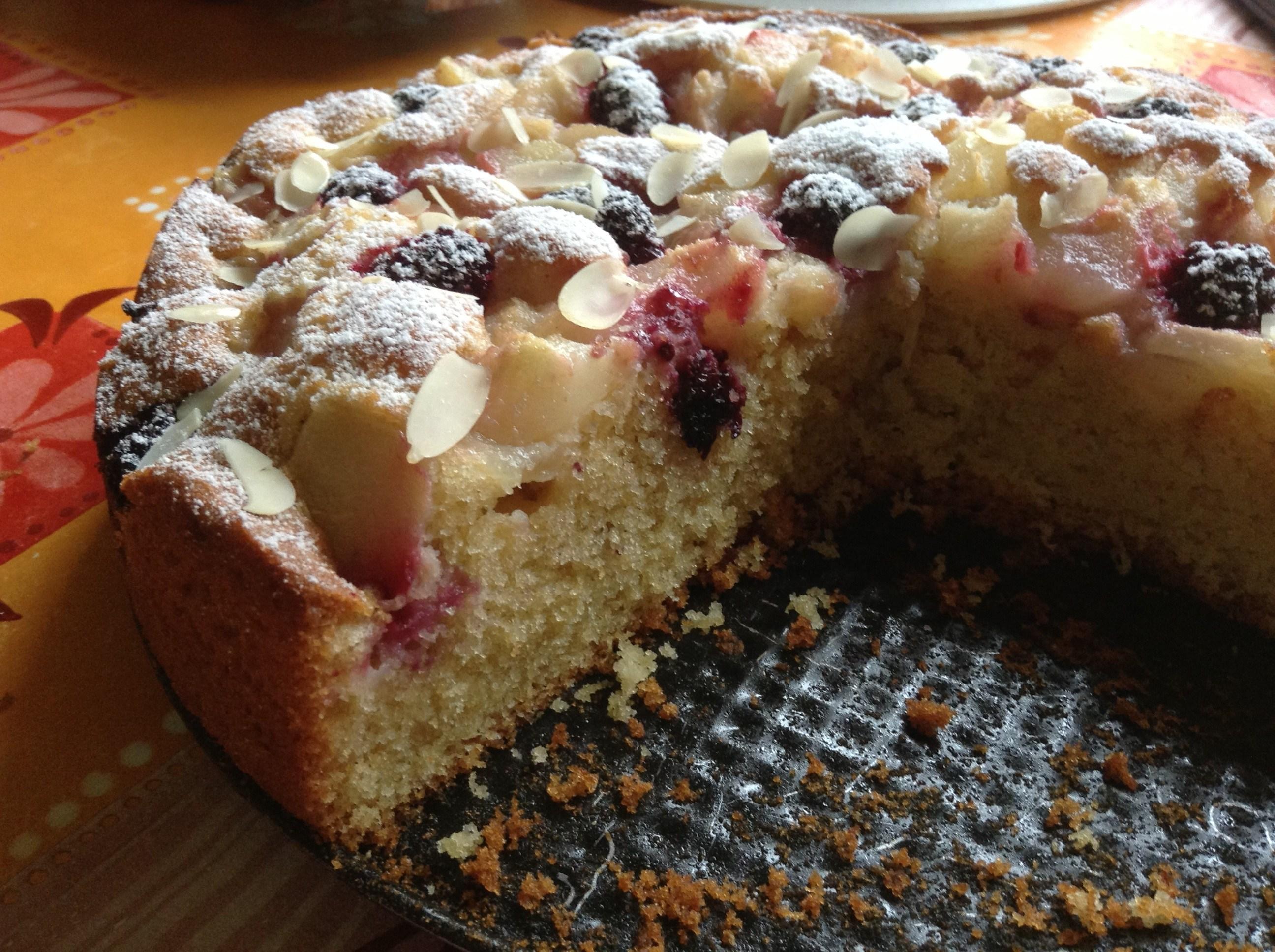 Пирог с ежевикой и творогом рецепт пошагово в духовке