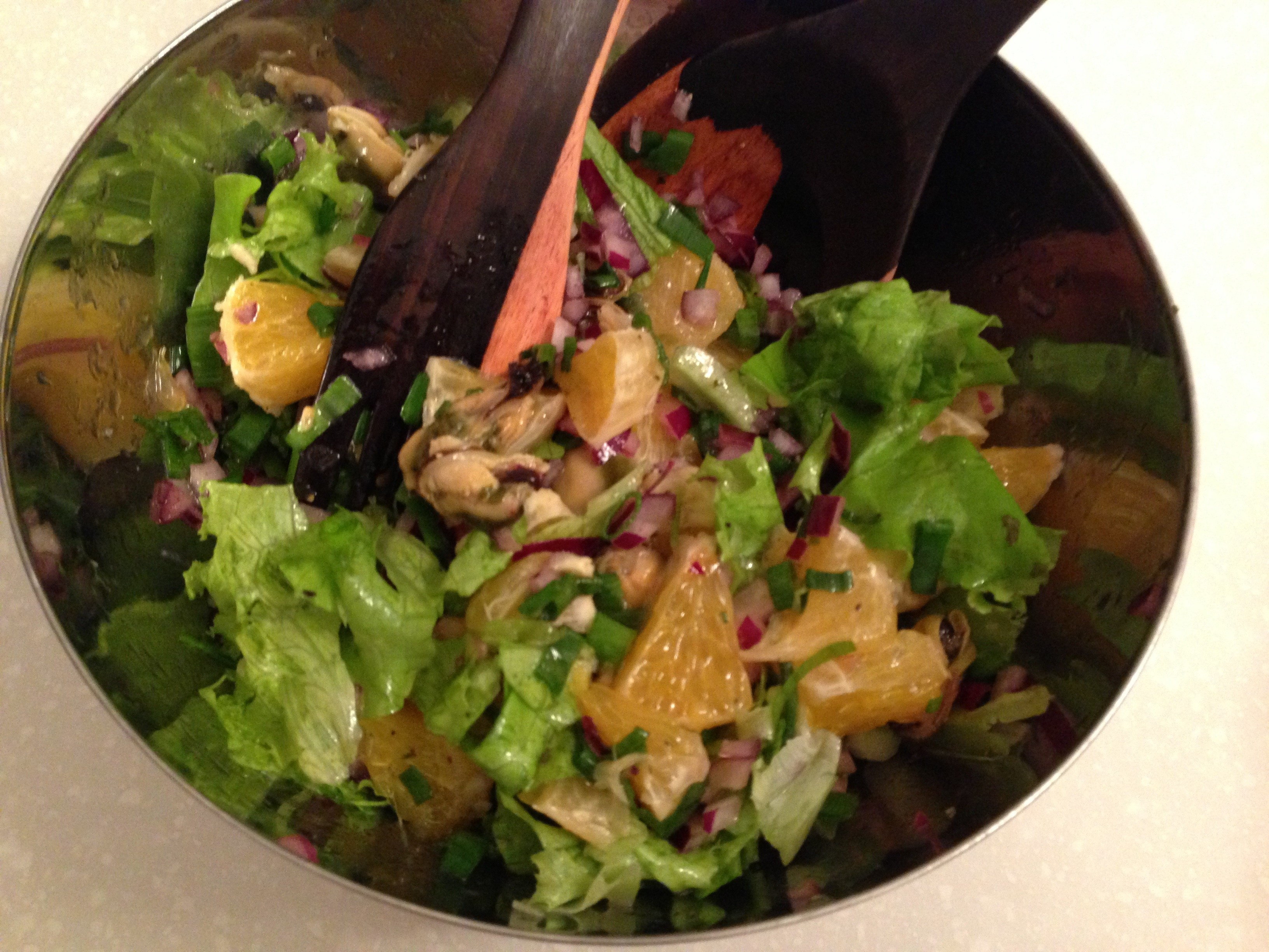 Теплый салат из мидий рецепты 190
