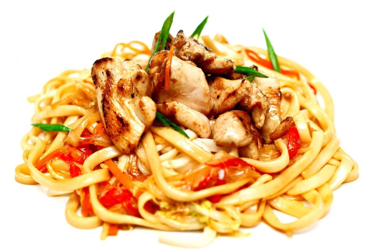 Рецепт лапши удон с курицей