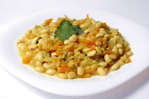 Блюда из сои бобов