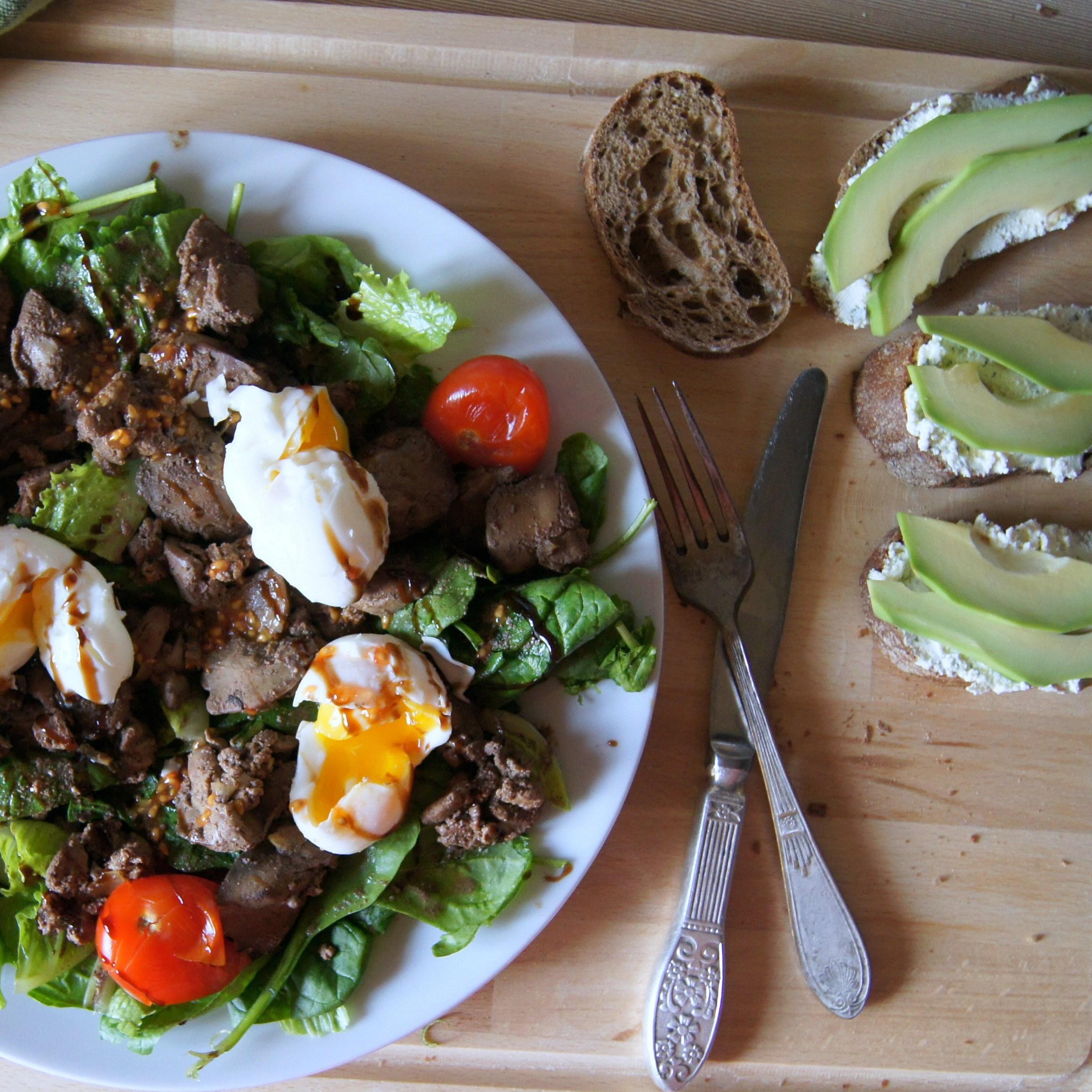 тёплые салаты рецепты с фото