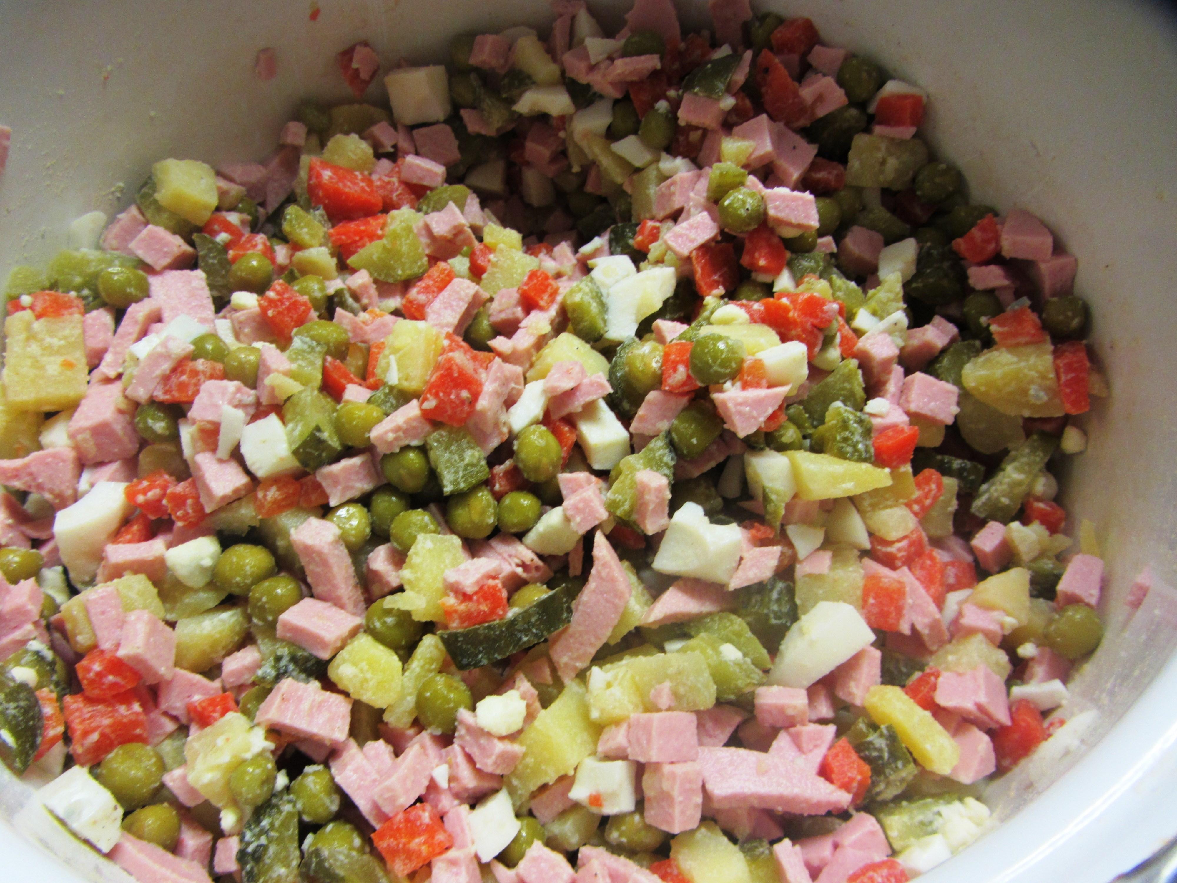 салат из вареных овощей рецепт с фото такими
