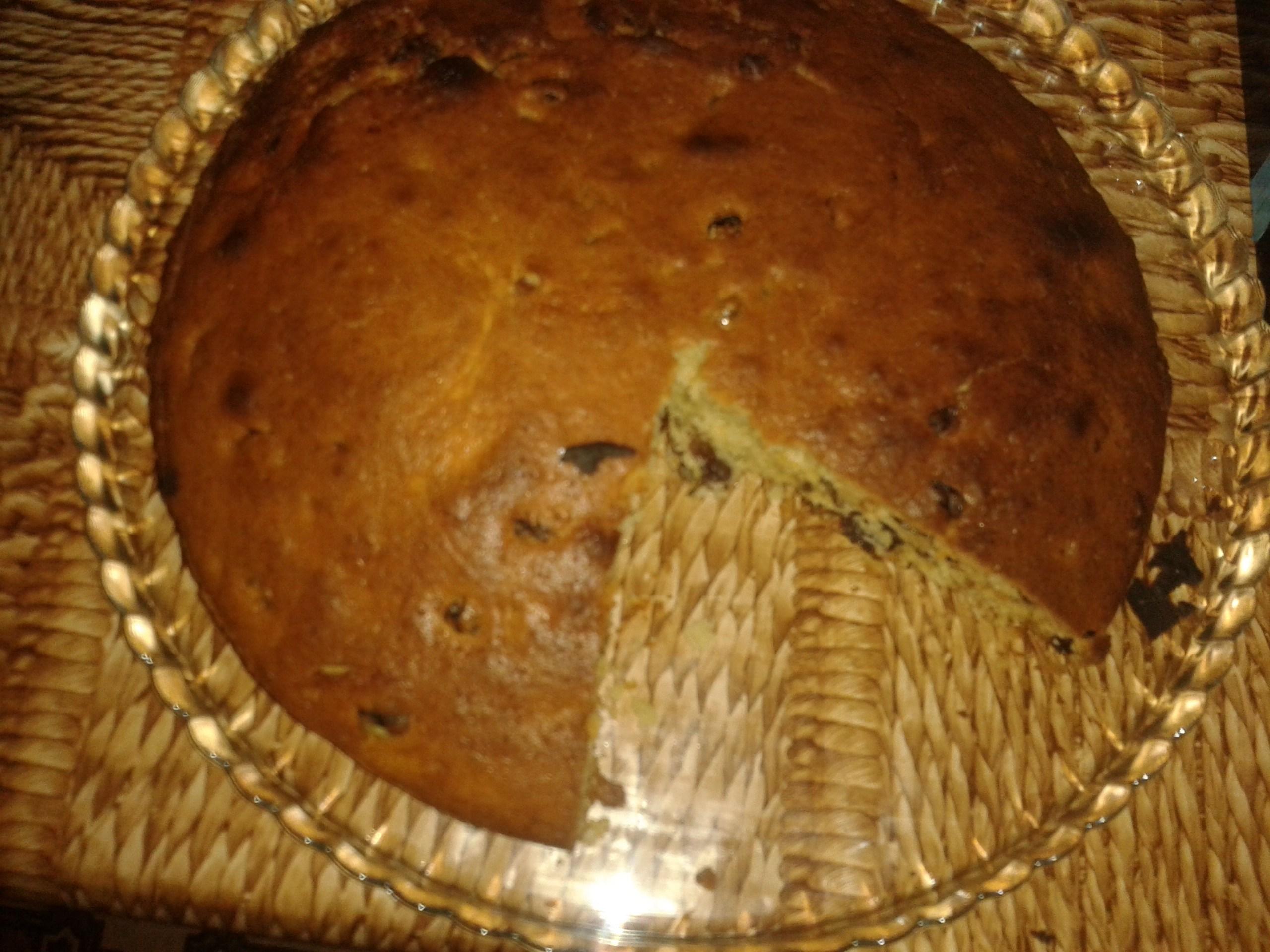 Пошаговый рецепт кекса с изюмом