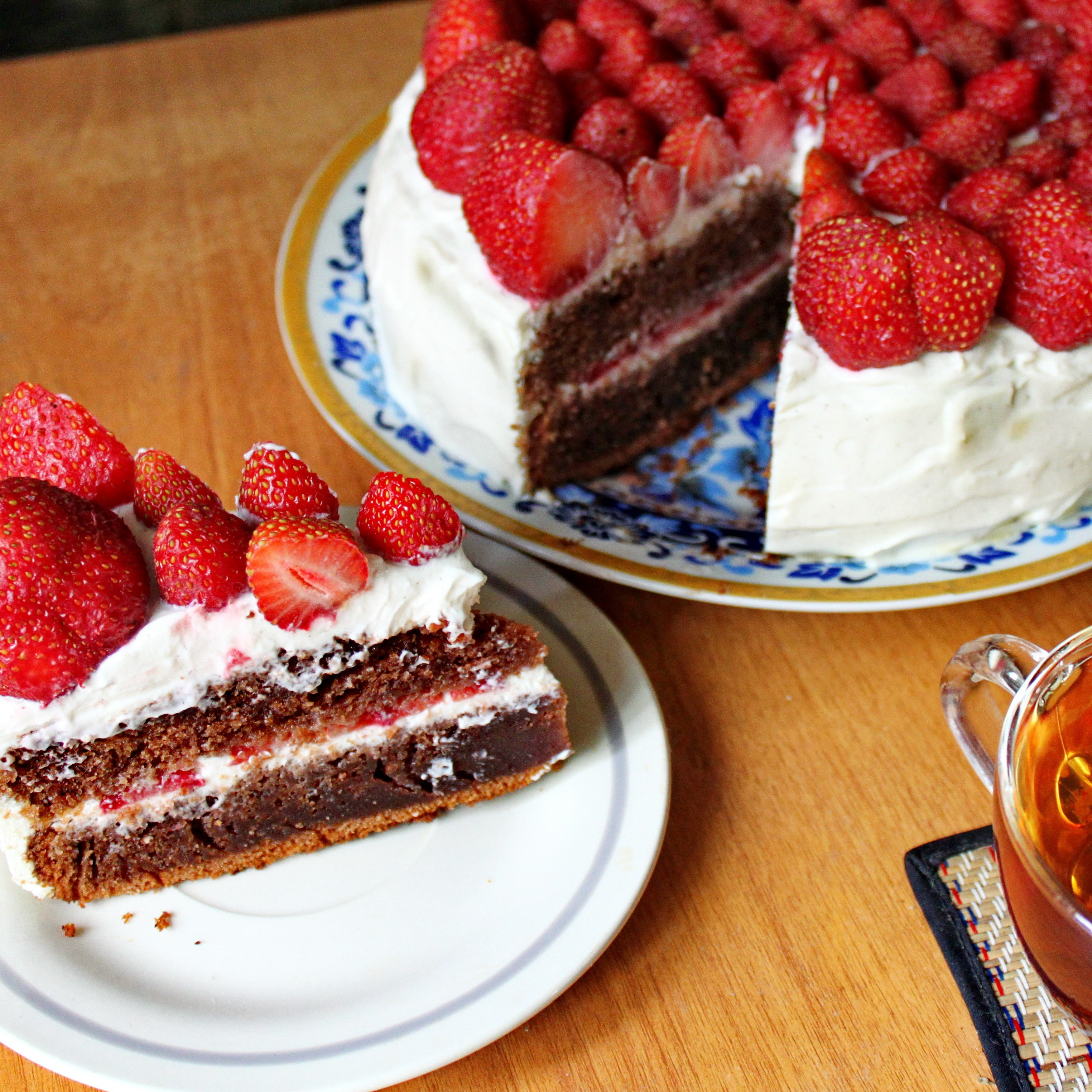 Пирог с маскарпоне и шоколадом — img 11