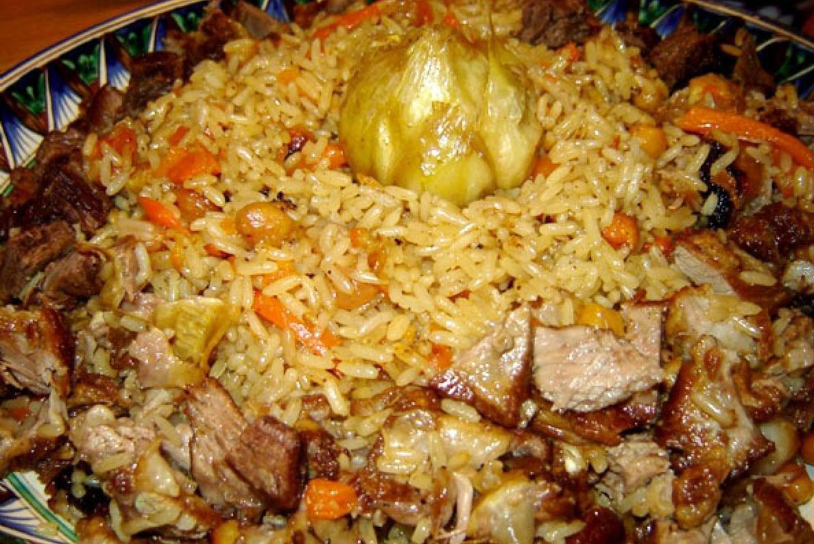 узбекский плов баранина рецепт с пошагово