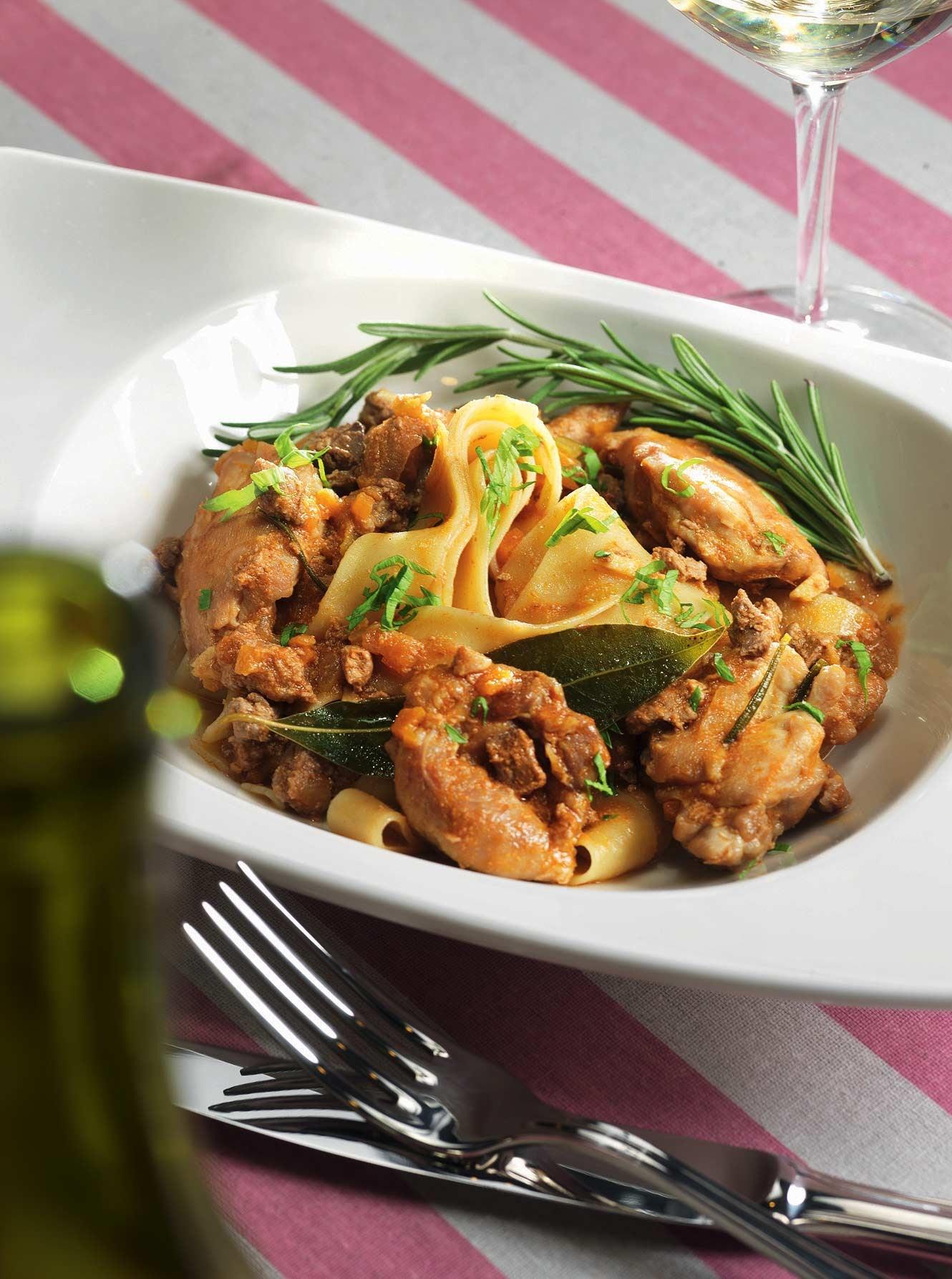 овощное рагу с кроликом рецепт