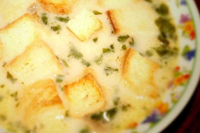 Рецепт сырного супа с курицей и шампиньонами