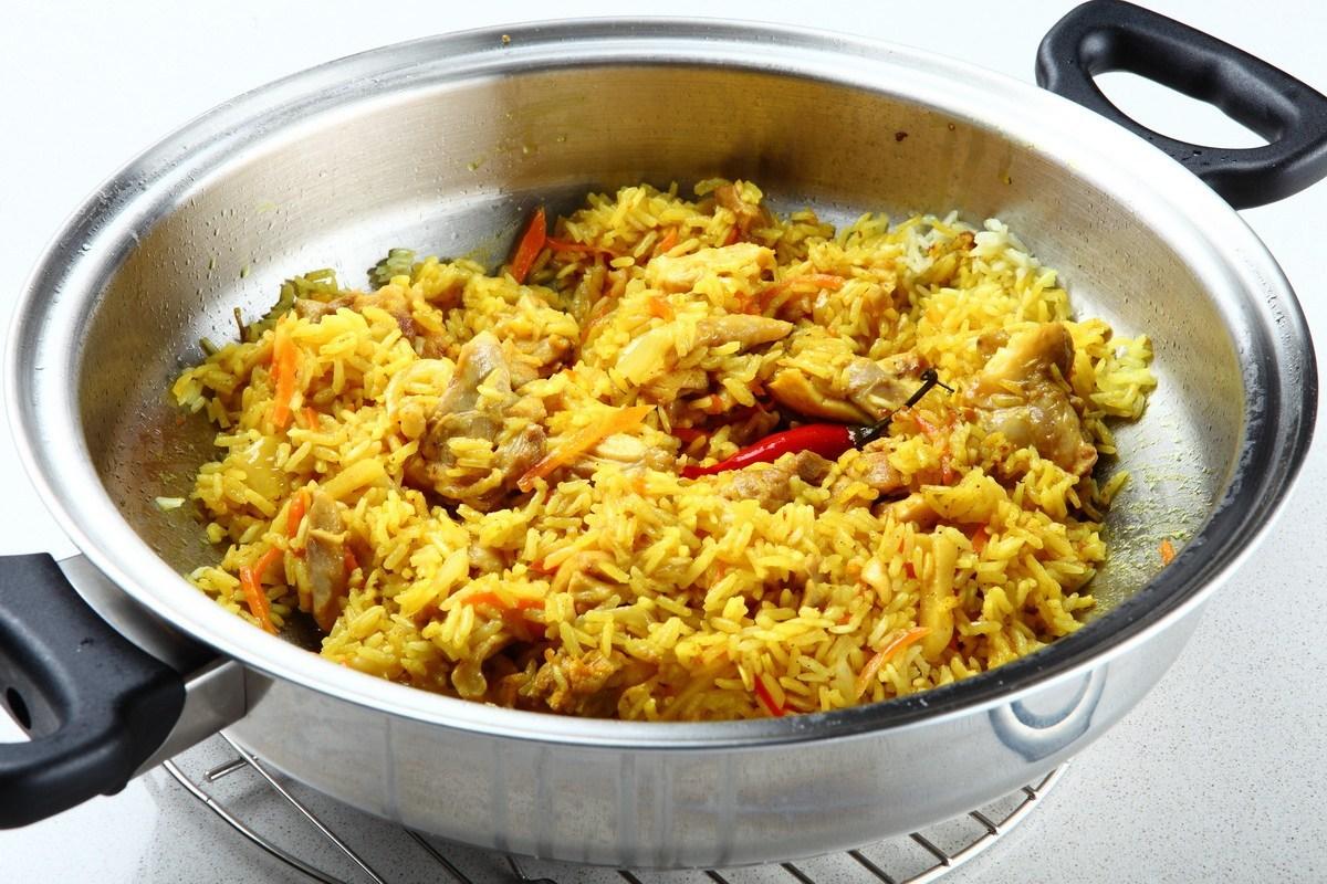 курица карри с рисом рецепт