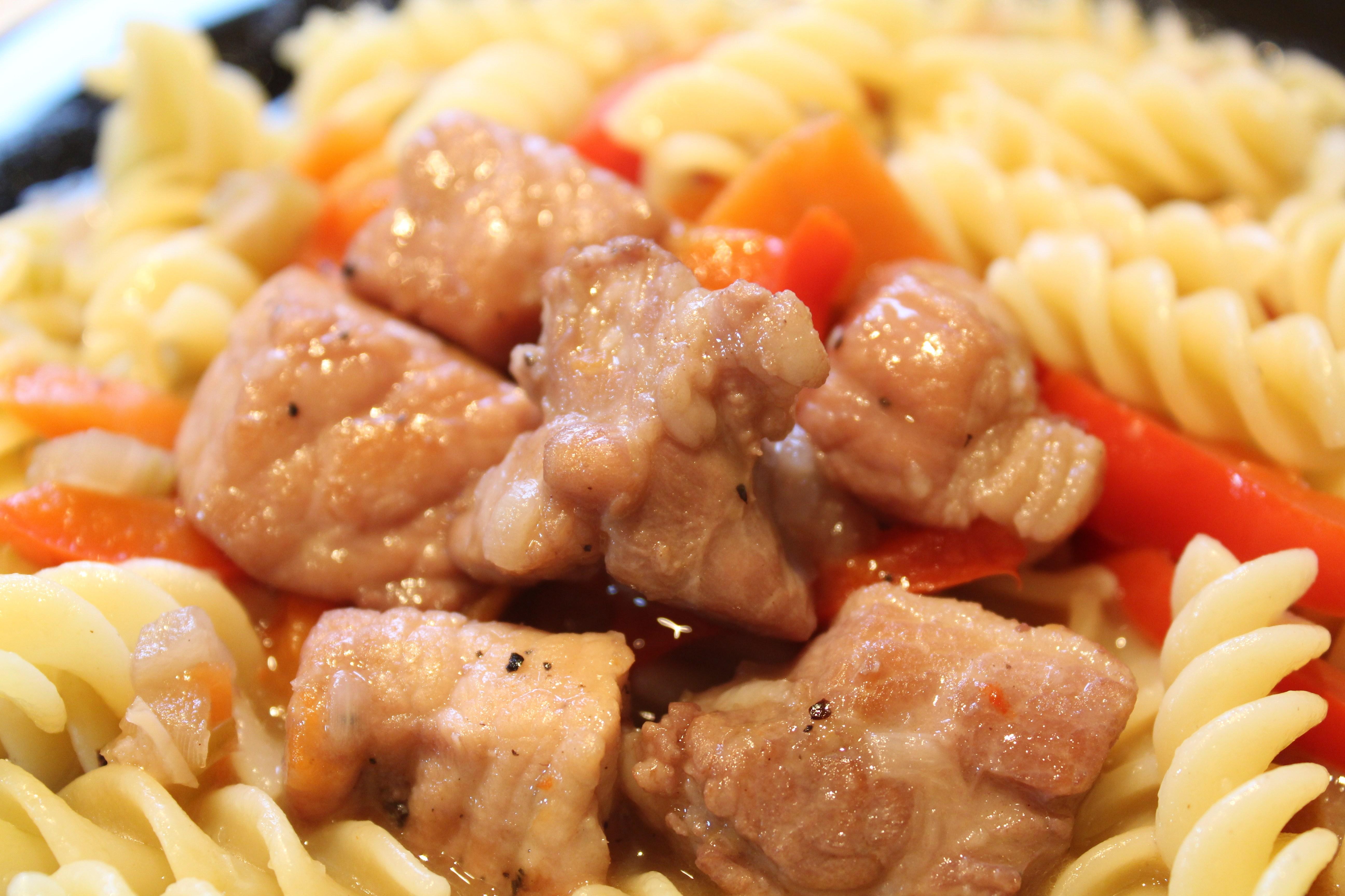 Свинина с овощами пошаговый рецепт