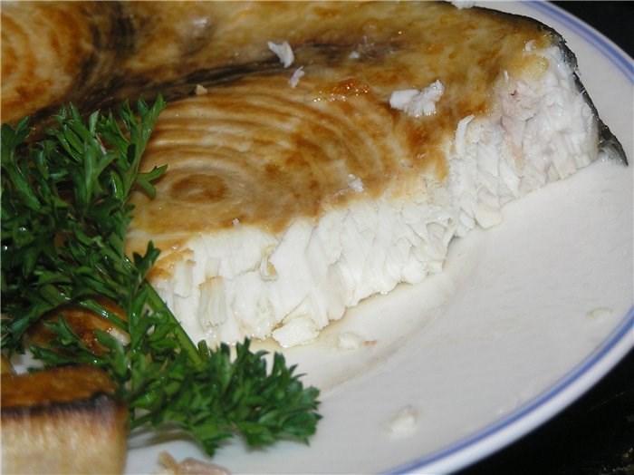 акула стейк как приготовить в духовке
