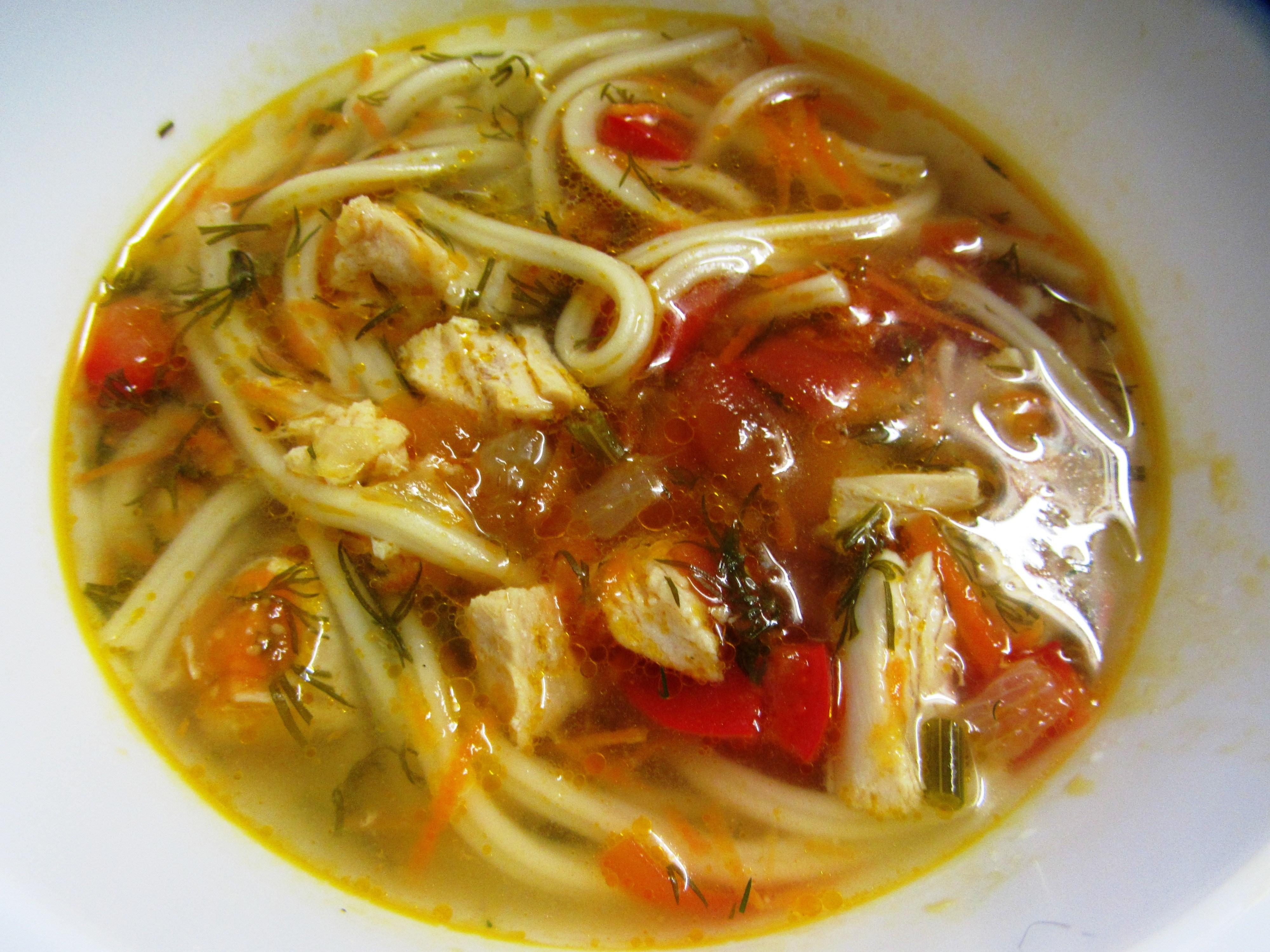 Суп с курицей рецепт с фото пошагово с картошкой