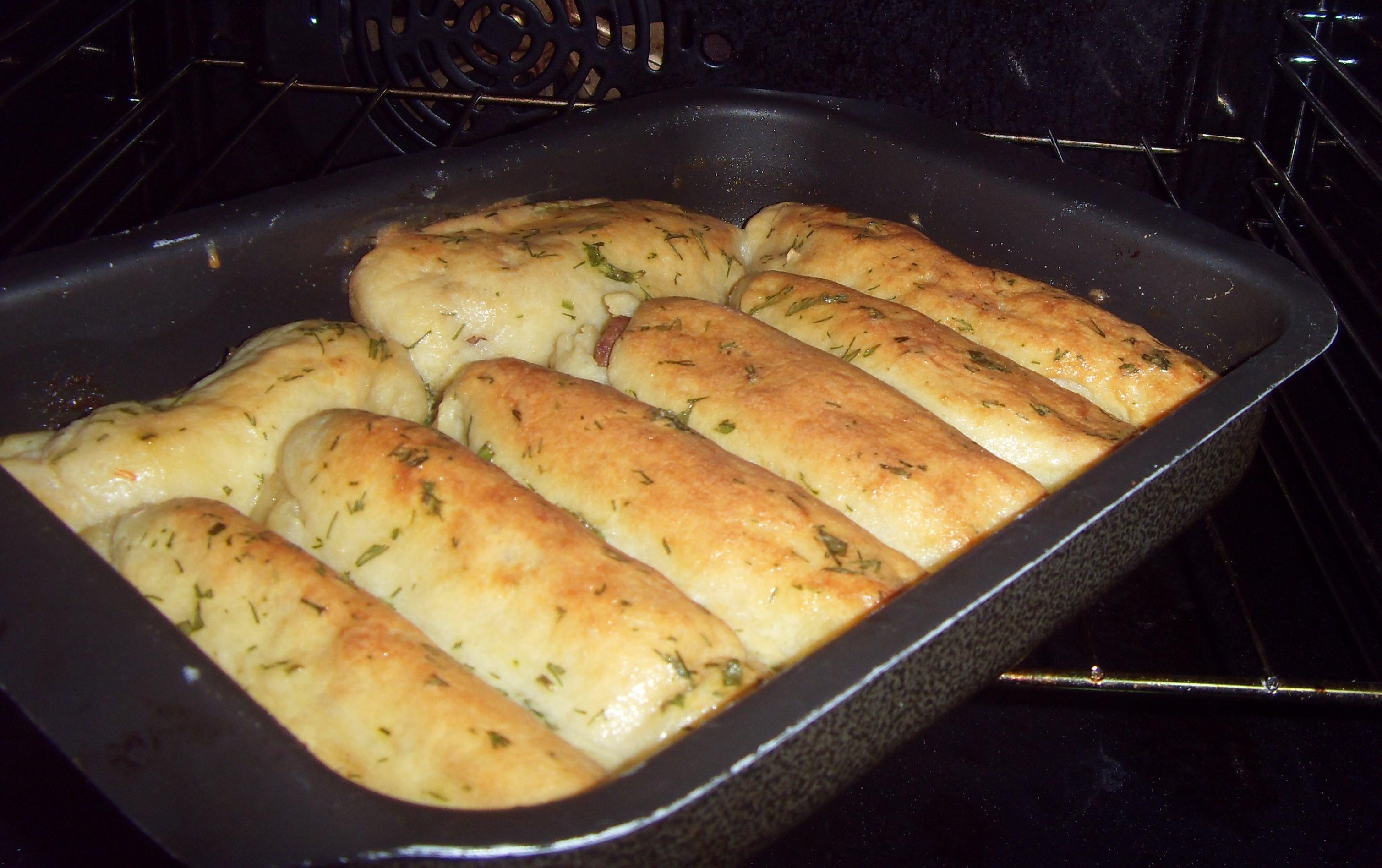 Сардельки в духовке рецепт с фото