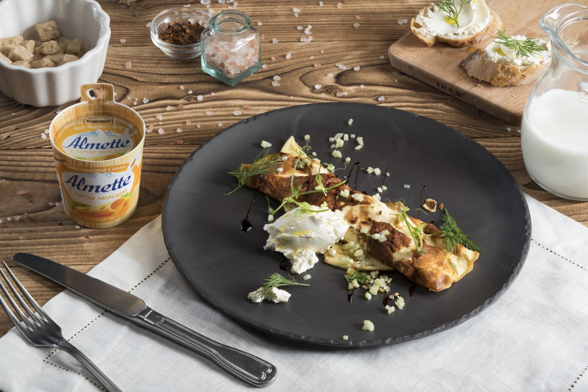 Омлет - лучшие 10 рецептов пышный омлет