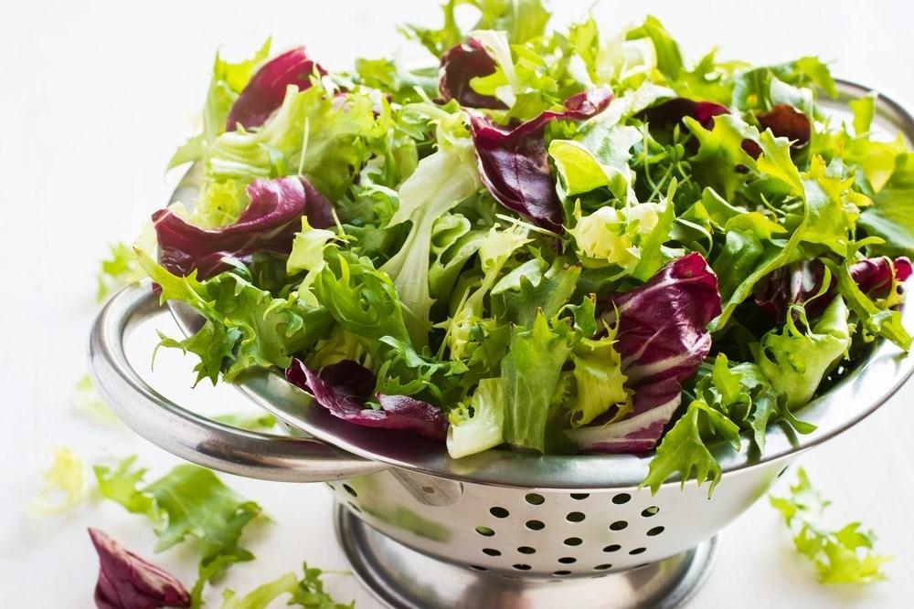 Салаты с салатом микс рецепты с