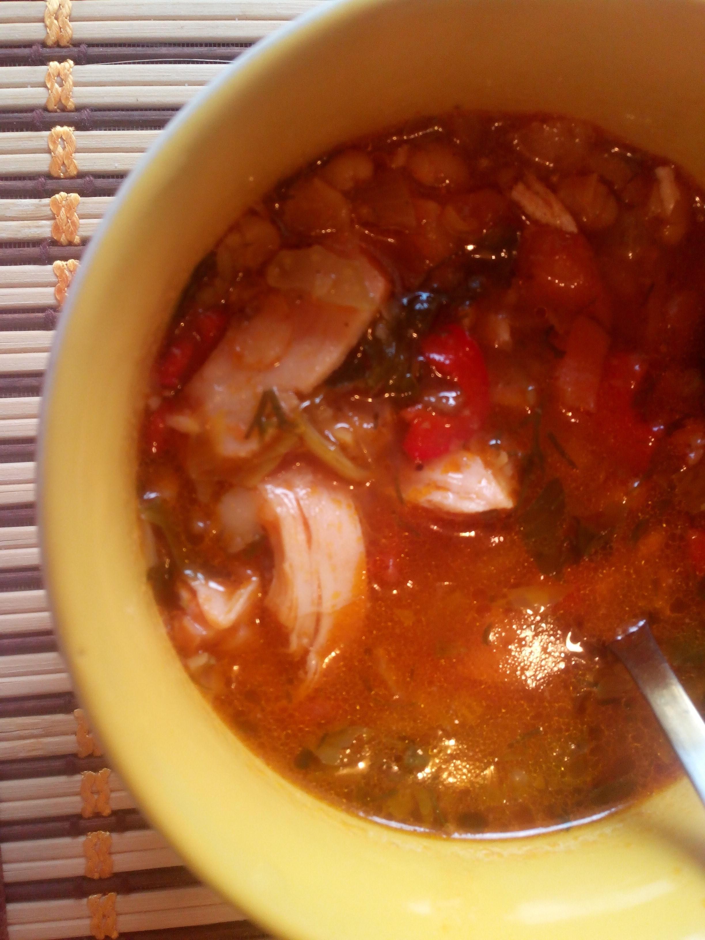 Острые супы рецепт с пошагово