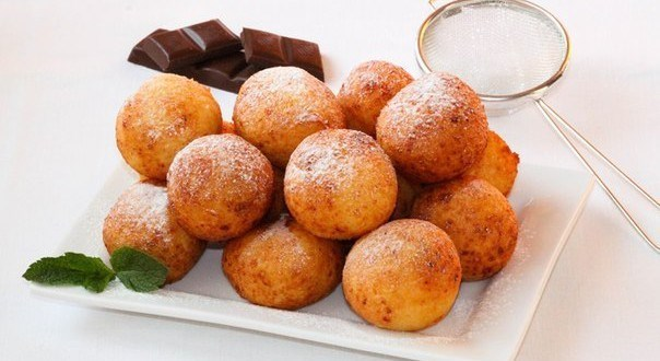 рецепт пончиков из творога в растительном масле