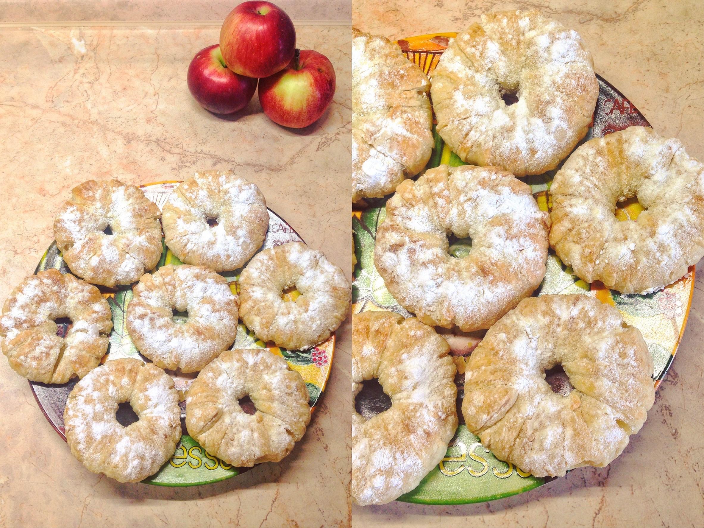 Слойки с ананасами рецепт