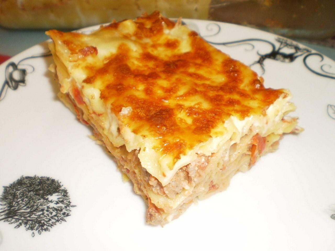 Пошаговый рецепт лазанья фото