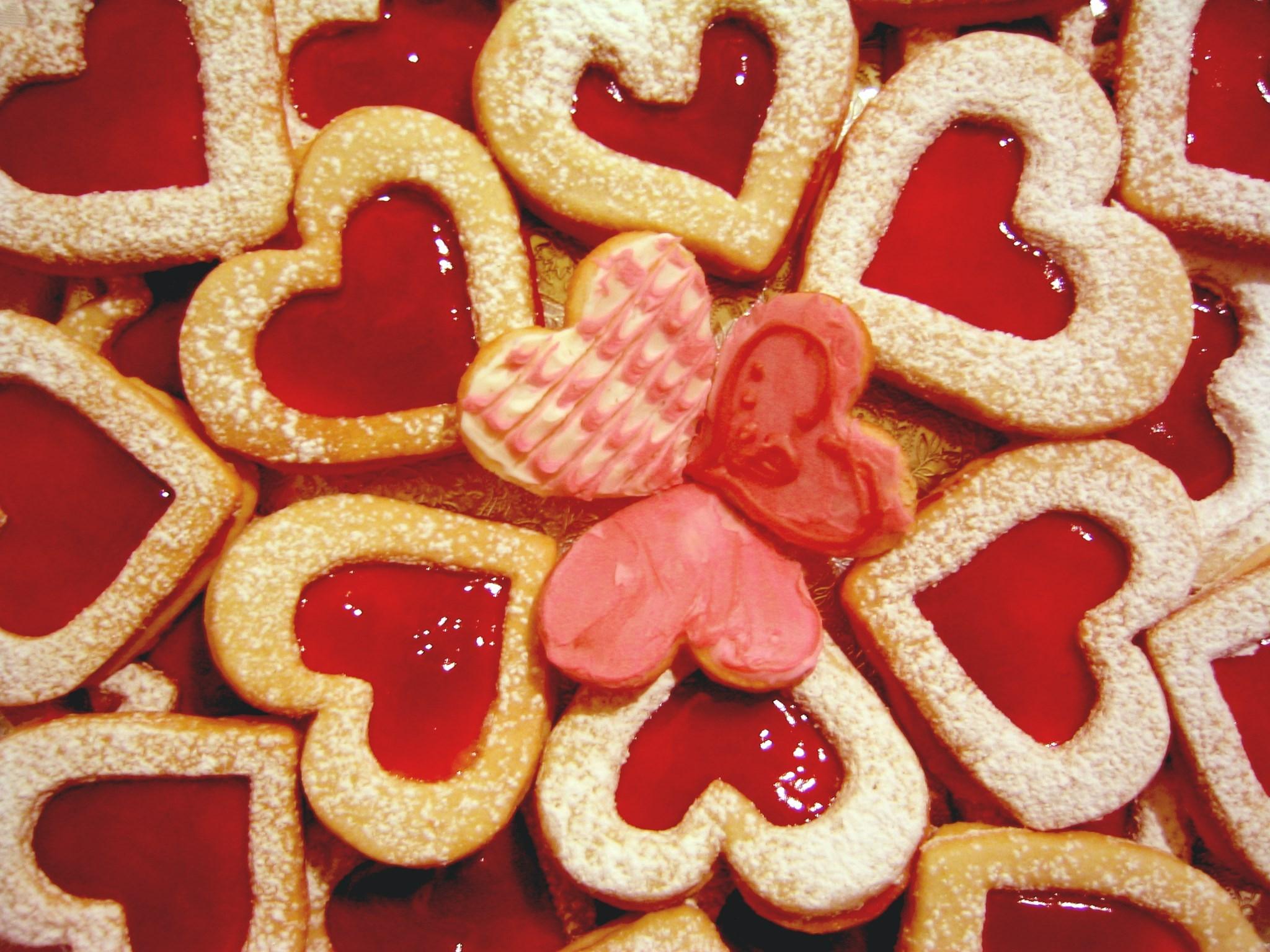 Печенье сердечки в форме рецепт пошаговый с фото