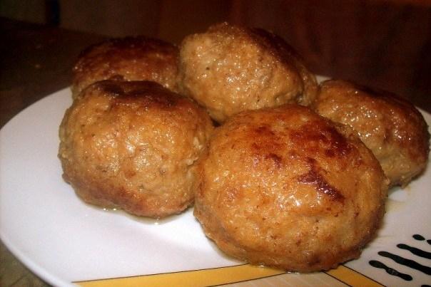 Биточки из свинины пошаговый рецепт с фото